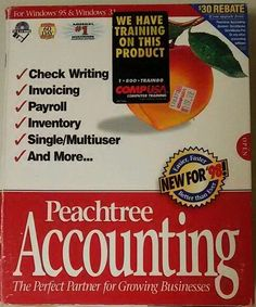 Peachtree Software Peachtree Accounting 5.0 #PeachtreeSoftware