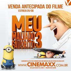 Cinemaxx inicia Venda Antecipada do Filme Meu Malvado Favorito Estreia 29/06