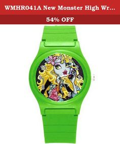 WMHR041A New Monster High Wristwatches Kid Boy Girl Children Xmas Gift. SHIPPING - We ship FREE SHIPPING. - Your item will be shipped within 48 hours except holiday of receiving your cleared payment. - Delivery times normal take approximately 14-30 working days. ** We utilize many warehouses around the world. If you order two or more products from us,they may ship separately. ** If you are not satisfied in any regard, please tell us before you take any action so that we can work out the...