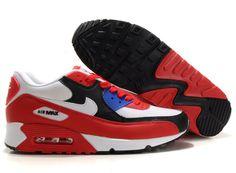 Nike Air Max 90 Mens Sport Red Dark Obsidian 309299 602