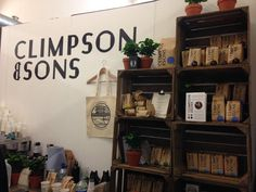Saying hello to the Climpsons team at London Coffee Festival - UK Coffee Week Liquor Cabinet, Bookcase, Shelves, London, Coffee, Storage, Modern, Furniture, Home Decor