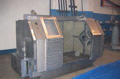 Struttura meccanica lavorata e saldata in acciaio