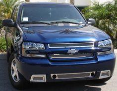 2006 2007 2008 Chevrolet TrailBlazer Custom Aftermarket Billet Grilles