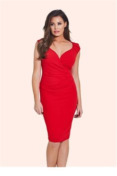 9e7915d51986ac Jessica Wright Kassey Red Bodycon Dress This dangerous red bodycon stunner  with a sweetheart neckline will ensure all eyes are on you at any event.