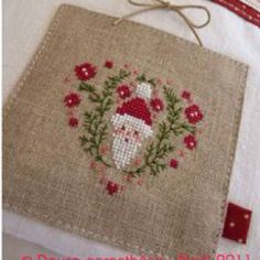 Christmas stitching~ Design From the book Merry Christmas by Marie Anne Rethoret Melin
