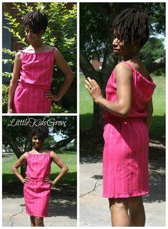 DIY Clothes DIY Refashion  DIY Easy Summer Sack Dress