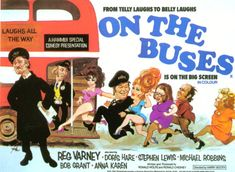 On The Buses (UK) tv show photo British Comedy Films, British Tv Comedies, Classic Comedies, Comedy Tv, English Comedy, British Humour, My Childhood Memories, Best Memories, Train Posters