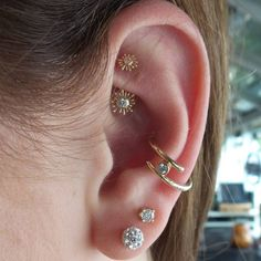 BVLA. These pieces were a perfect fit for her rook and conch, beautiful!