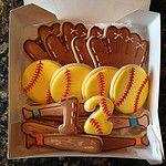 Sale On Basketball Shorts Product Softball Cookies, Softball Cupcakes, Softball Treats, Baseball Treats, Iced Sugar Cookies, Royal Icing Cookies, No Bake Cookies, Softball Birthday Parties, Softball Party