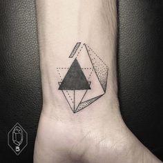 wrist tattoo by Bicem – Sinik, Istanbul, Turkey | simple geometric tattoos