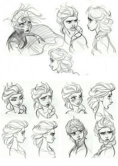 21 New Ideas Drawing Cartoon Tutorial Awesome Disney Concept Art, Art Disney, Disney Sketches, Disney Drawings, Art Drawings, Drawing Disney, Outline Drawings, Art Sketches, Character Sketches