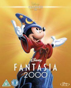 Fantasia 2000 - Special Edition Walt Disney Studios Home Entertainment Disney S, Disney Magic, Disney Movies, Dvd Blu Ray, Spooky Buddies, Disney Animated Classics, Disney Classics, The Sorcerer's Apprentice, Walter Elias Disney
