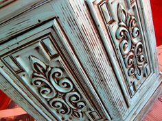DIY Glazing and Antiquing Furniture Tutorial! {You're WELCOME!} - Sawdust and Embryos