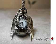 snitch watch necklace... only $3.99!?