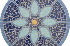 Utilitários: Mesa Em Mosaico - Tampo De Mesa Em Mosaico Doce Lar 80 Cm