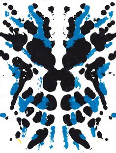 Rorschach Test #2 art print