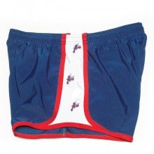 Lobster Embroidered #Shorts in Navy by Krass & Co. #fitness #activewear