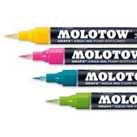 31830 MOLOTOW AQUA Ink Brush Marker Sammelaufnahme hires tiff