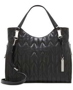 i love my vince camuto quilted riley tote