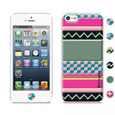 Cushi Art Deco for iPhone 5 - Pink