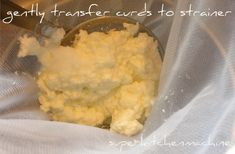 Ricotta cheese made in Thermomix