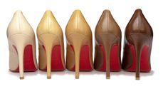 Five Shades of Nude de Christian Louboutin