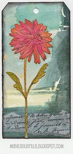 Beulah Bee: SA Flower Garden set- Asteraceae