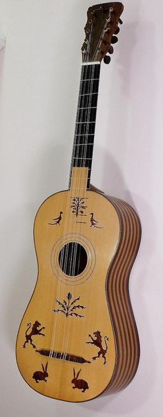 Guitar after anonymous Spanish model c. 1690 by Clive Titmuss