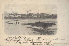 Blog do Rio Vermelho, a voz do bairro: Praia de Santana em 1899 em postal de Albert Aust ...