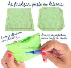 aula de costura #5: almofada ou alfineteiro para iniciantes