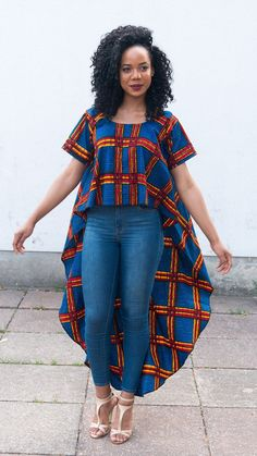 OBY top in blue by ofuure on Etsy