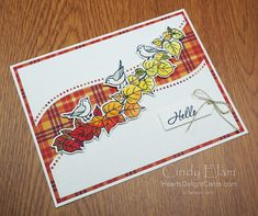 Heart's Delight Cards: Saturday Autumn Essentials