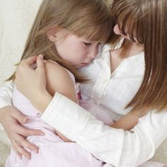 Mother calms the crying daughter. Mother calms the sad daughter , Dont Be Scared, Flu Season, Family Life, Good People, Parenting Hacks, Bullying, Crying, Healthy Living, Preschool