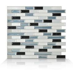 Smart Tiles 10 in. H x 10 in. W Brina Mosaik Decorative Wall Tile-SM1041-1 at The Home Depot