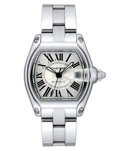 Cartier Roadster for my wrist. Perfect with a white gold bangle.