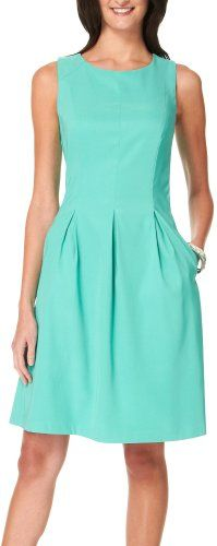 AGB Petite Pleated Pocket Dress for only $36.00 You save: $24.00 (40%)