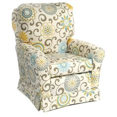 Cottage Glider in Choice of Fabric from PoshTots