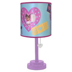 Disney Doc Mcstuffins Table Lamp with Diecut Double Shade, Assorted Doc Mcstuffins Bed, Girls Bedroom, Bedroom Ideas, Bedrooms, Dream Bedroom, Baby Bedroom, Bedroom Decor, Toy Organization, Little Girl Rooms