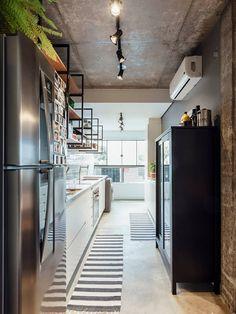 CP MAXHAUS: Cozinhas por W4 ARQUITETURA