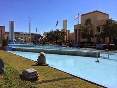 esplanade fountain at fair park dallas, texas www.fountainsdallas.com Fountains of Dallas - Google+