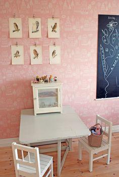 habitaciones infantiles papel pintado 7 10 Habitaciones infantiles con Papel Pintado