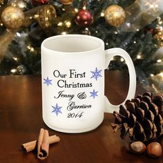 Our First Christmas Mug - 8 Styles