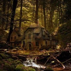 Old Mill in The Black Forest!