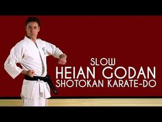 Bassai Dai (SLOW) - Shotokan Karate-Do - YouTube
