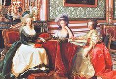 Yolande de Polignac with her two best friends: Marie Antoinette and the Princesse de Lamballe
