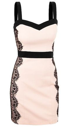 A very unique find- a white cocktail dress. The black lace trim and the black straps and belt add a very cute contrast to the dress. - prom dresses uk, ball dresses, juniors shift dress *sponsored https://www.pinterest.com/dresses_dress/ https://www.pinterest.com/explore/dress/ https://www.pinterest.com/dresses_dress/dresses/ http://shop.nordstrom.com/c/womens-dresses-shop