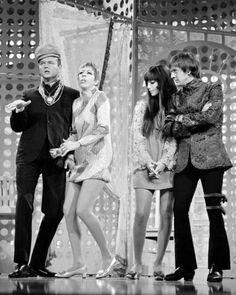 Carol Burnett, Harvey Korman with Sonny and Cher