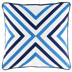 """Happy Chic by Jonathan Adler Elizabeth 18"""" Square Pillow - JCPenney"""