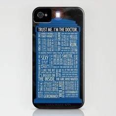 Doctor Who  iPhone Case in case you get an iPhone