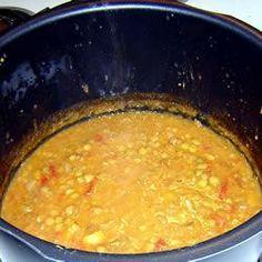 Cumin and Apricot Lentil Soup @ allrecipes.com.au